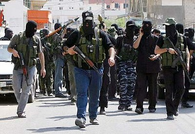 Hamas gunmen take control of Gaza (AFP).